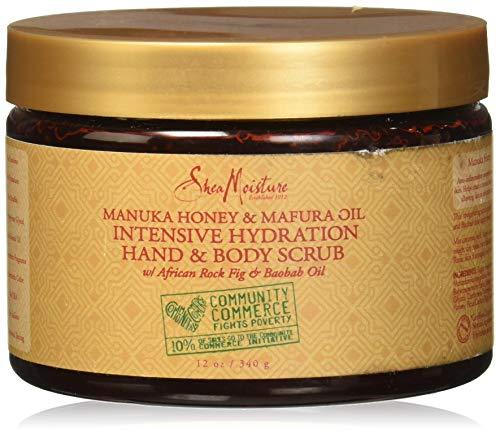 SHEA MOISTURE Manuka Honey & Mafura Oil Intensive Hydration Hand Body Scrub