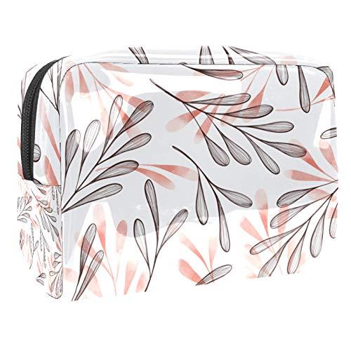 Shamrock (L x W x H)18,5 x 7,5 x 13 cm bolsa de maquillaje de viaje, bolsa de embrague/bolsa de cosméticos, bolsa de maquillaje, bolsa multifuncional hecha a mano para mujer