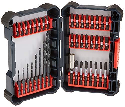BOSCH 40 Piece Impact Tough Drill Driver Custom Case System Set DDMS40