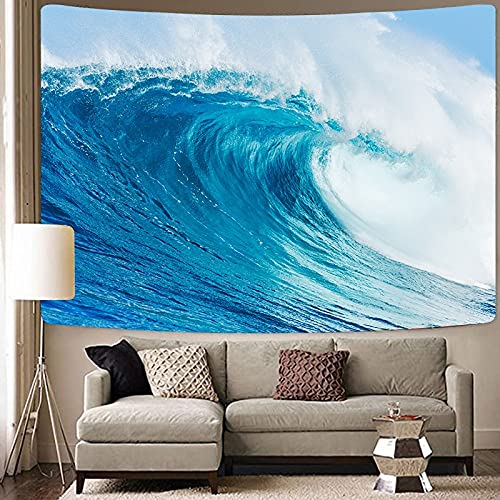 Ola de calor paisaje marino cielo colgante de pared hippie mar tapiz mandala tapiz psicodélico fondo bohemio tela toalla de playa A1 150x200cm