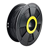 ZIRO 3D Printer Filament 1.75mm TPU Flexible Filament 0.8KG Spool, Dimensional Accuracy +/- 0.05mm