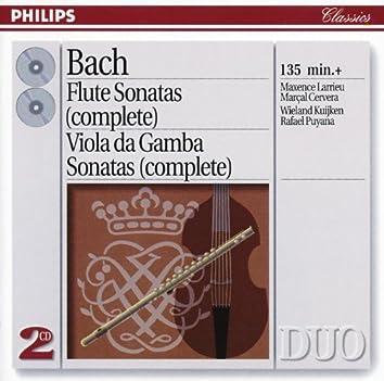Bach, J.S.: The Flute Sonatas/The Viola da Gamba Sonatas