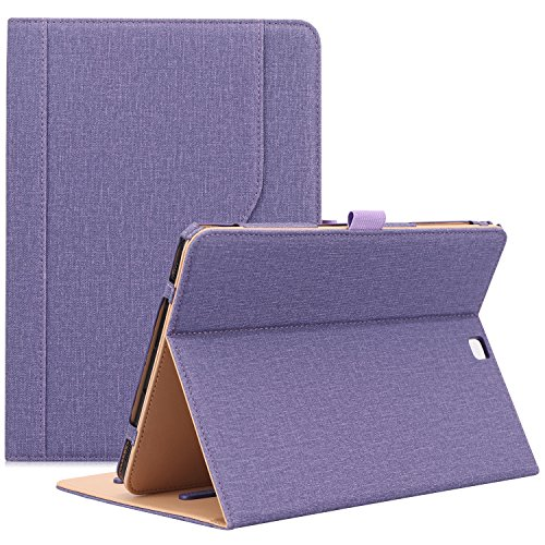 ProCase Funda para Samsung Galaxy Tab S2 9.7 pulgadas, función atril, funda para tablet Galaxy Tab S2 (9.7 pulgadas, SM-T810 T815 T813), color morado