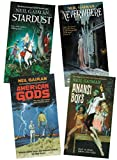 Neil Gaiman 4 Books Collection Set ( Neverwhere, Stardust, Anansi Boys, American Gods )