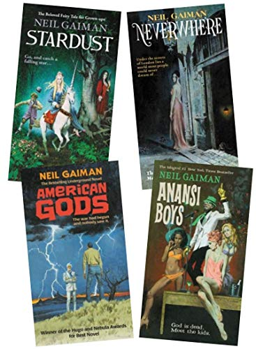 Neil Gaiman 4 Books Collection Set …