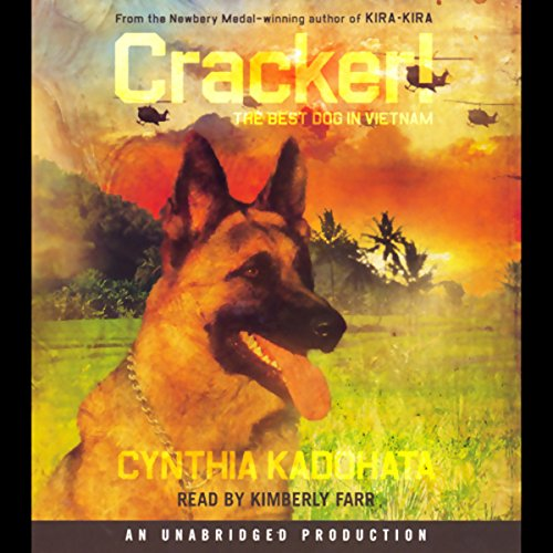 Cracker! audiobook cover art
