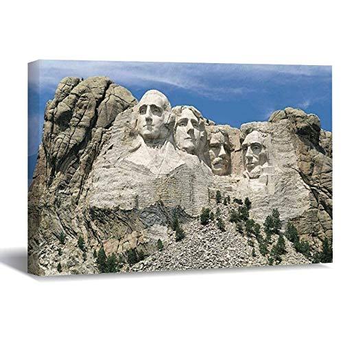 Lienzo impreso en lienzo para pared, diseño de presidente de Estados Unidos...
