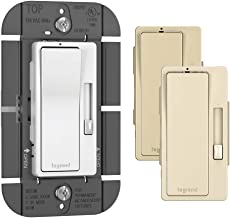 Legrand - Pass & Seymour RH1103PTCCCV6 120V, 1100W Single Pole/3-Way Dimmer Switch
