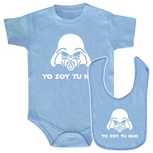 Pack Body bebé babero Yo soy tu hijo Star wars/Darth