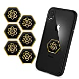 EMF Pro Radiation Protection Phone Stickers  Shungite EMF Protection Stickers  EMF Blocker for All Devices  Electro Pollution and Wave Blocker  Easy to Apply  Set of 6 Pieces