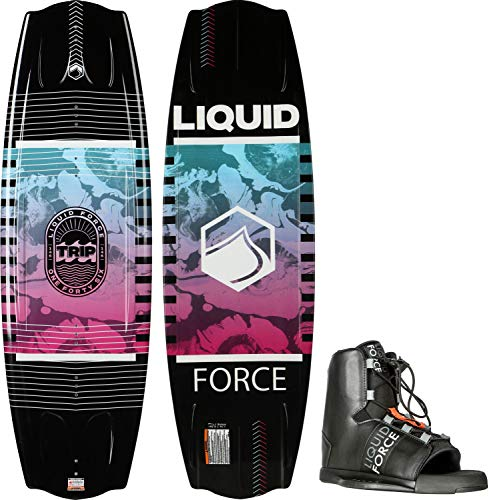 Liquid Force Trip SE Wakeboard w/Element Bindings Mens Sz 134cm/