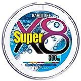 デュエル(DUEL) PEライン ハードコア スーパー X8 300m1.0号 5色 H4322-5C