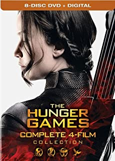 The Hunger Games: Complete 4 Film Collection Digital