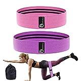 Banda de entrenamiento de resistencia al ejercicio: Bandas de botín elásticas para cadera Set para piernas Brazos Butt Fit para entrenamiento Pilates Estiramiento Terapia física Yoga Home Fitness