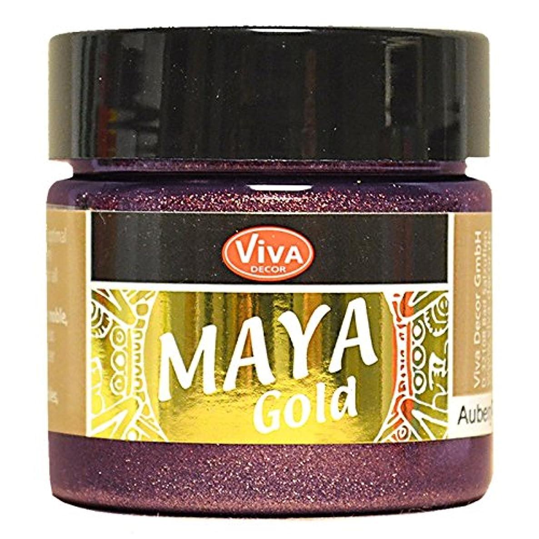 Viva Decor Maya Gold 45Ml-Aubergine