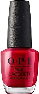 OPI Nail Lacquer - Esmalte Uñas Duración de Hasta 7 Días Efecto Manicura Profesional - Tonos Rojos y Granates