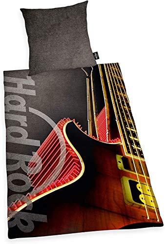 Rock CAFE beddengoed glad hard gitaar retro 135 x 200 cm cadeau NIEUW Wow - All-In-One Outlet-24 -