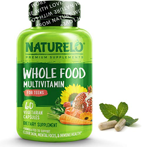 NATURELO Whole Food Multivitamin for Teens
