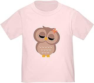 CafePress Single Girl Owl Toddler T-Shirt Toddler Tshirt
