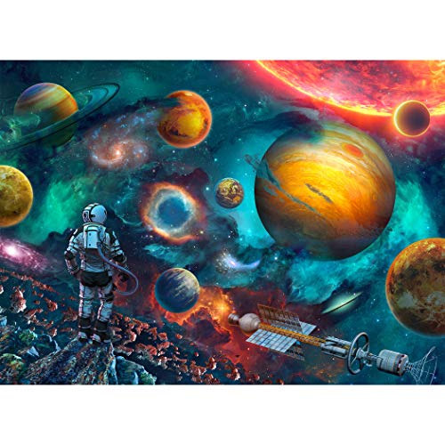 Tektalk 500 Piece Puzzle Jigsaw Puzzle for Teens & Adults (Outer Space)