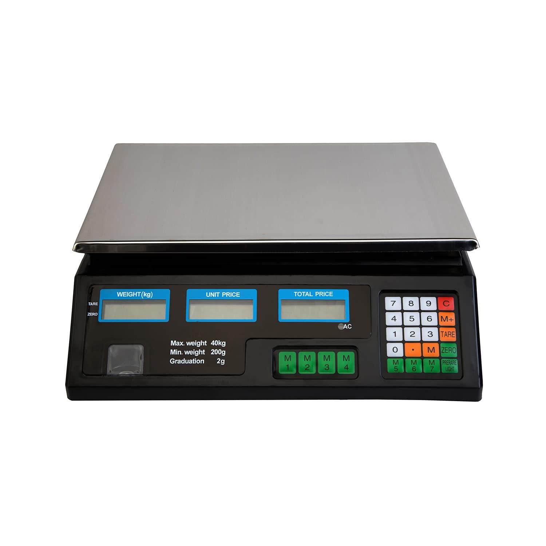 Báscula digital con cable de carga, báscula de carga de hasta 30 kg, PESA DIGITAL ELECTRONICA