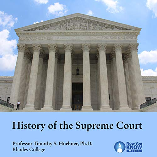 History of the Supreme Court audiobook cover art