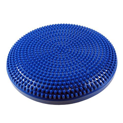 Unibest Sitzkissen Noppenkissen Massagekissen Durchmesser 34cm blau