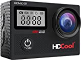 HDCool – Action-Cam, 4K, 20 MP, WiFi, 170°-Ultra-Weitwinkel, 2,0 Zoll (5,08 cm)...