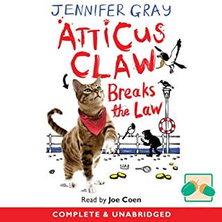 Couverture de Atticus Claw Breaks the Law