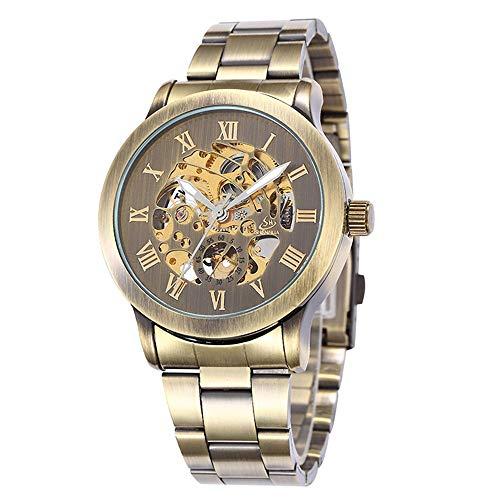 SJXIN Hochwertige mechanische Uhr, Shenhua / 9269 Herren automatische mechanische Gürtel Uhr (Color : 3)