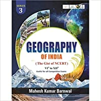 Geography of India by Mahesh Barnwal with NCERT (Best for Civil Services and Other competitive Exams) [Paperback] Mahesh Kumar Barnwal and Fastbook Library