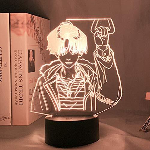 Lámpara LED de luz nocturna acrílica 3D DIY Anime Killing Stalking Yoon Bum Light Bed Room Decoración Killing Stalking Lamp Yoon Bum