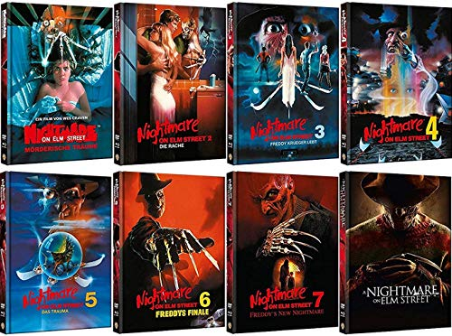 Nightmare on Elm Street 1-8 Collection [Mediabook Set]