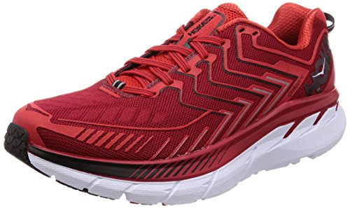 Hoka One One Clifton 4 Red High Risk Red 45