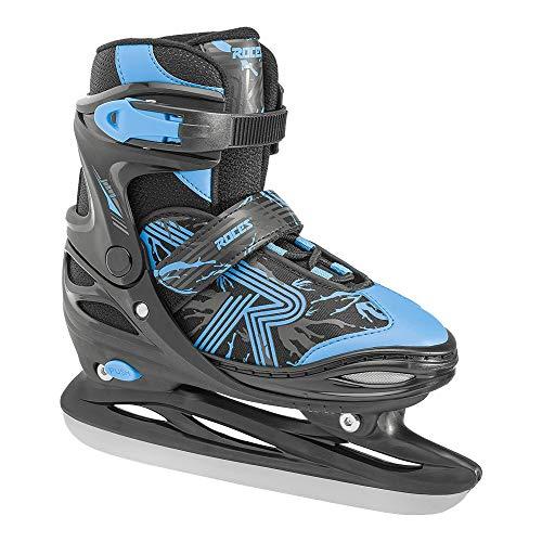 Roces Jungen Jokey Ice 3.0 Boy Schlittschuh, Black-Astro Blue, 38-41