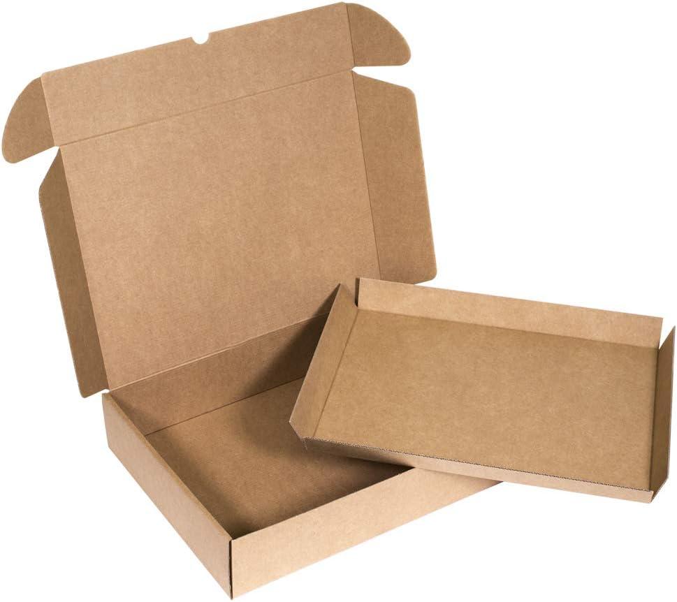 Kartox   Caja con Bandeja Extraible de Catering - Eventos   Caja Fabricada en Cartón Kraft   Talla L   10 Unidades