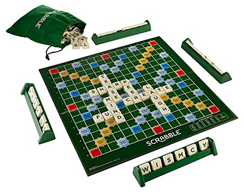 Scrabble Orginal Y9592 Board Game, Styles May Vary