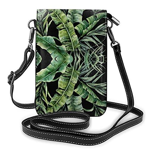 Jungle, bolsa impermeable para teléfono, monederos y bolsos ligeros con 2 correas para el hombro para las mujeres