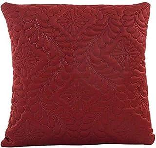 Federa di Natale, Scpink Vendita di liquidazione! Cuscino Divano Vita Gettare Cuscino Home Decor Fodera per Cuscino (Rosso)