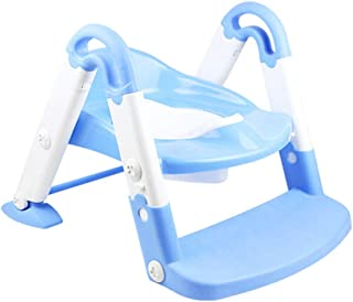 Ronshin Fashion Baby 3 in 1 Multi-functional Stepped Toilet Foldable Ladder with Potty