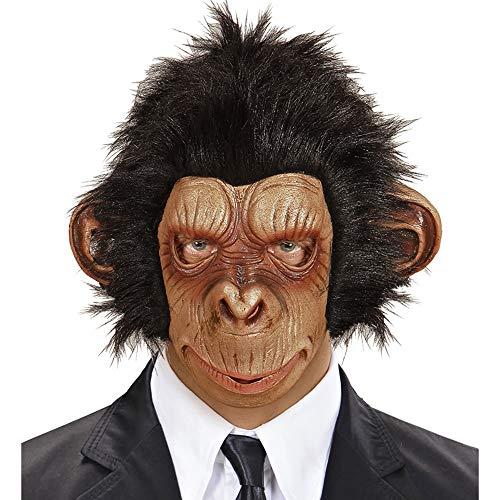 Widmann Affenmaske aus Plüsch