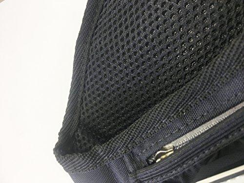 ランニング・スタイル×ラン・ウォークスタイルコラボモデルボトルポーチ「YURENIKUI」(ブラック×グレー)