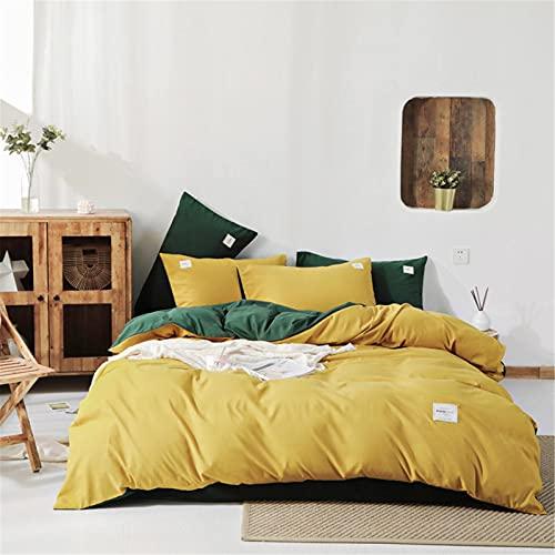 Ropa De Cama Textiles para El Hogar Funda Nórdica De Doble Cara De Color Puro Moderna Simple Cómoda Transpirable Y Fácil De Limpiar 220x240cm