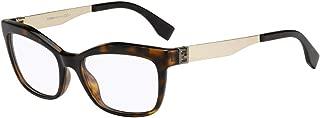 FENDI Eyeglasses 0050 0PGM Havana Gold 53MM