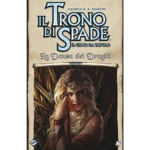 Asmodee - Juego de Tronos, el juego de mesa: La danza de los dragones, expansión juego de mesa, edición en italiano, 9077