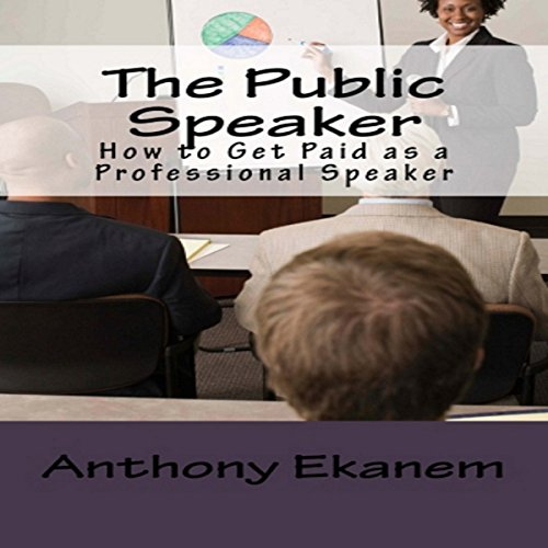 The Public Speaker audiobook cover art