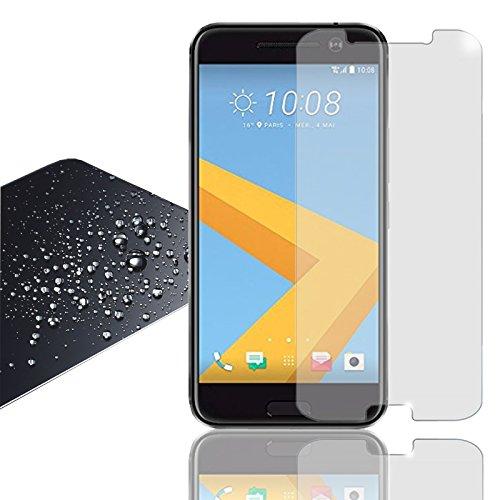 Eximmobile Panzerfolie für HTC One Mini 2 Echt Glasfolie (klar) für besten Displayschutz Selbstklebende Displayschutzfolie 9h Glasfolie rückstandslos entfernbar Schutzfolie Folie