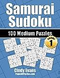 Samurai Sudoku Medium Puzzles - Volume 1: 100 Medium Samurai Sudoku Puzzles for the Casual Solver (Number Puzzle Fun)