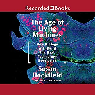 The Age of Living Machines audiobook cover art