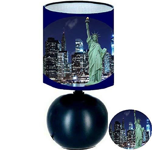 Lampe de chevet NEW YORK STATUE DE LA LIBERTE. création artisanale